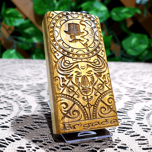 brigada mechanical mod by puff box