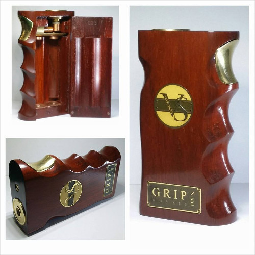 Grip Royale Red Wood Box Mod