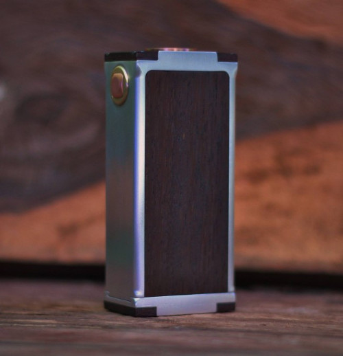 Kasha Brass and Wood Box Mod
