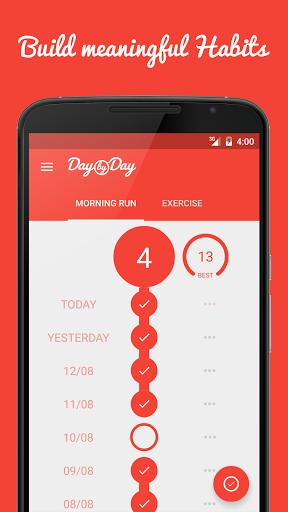 day by day habit building app
